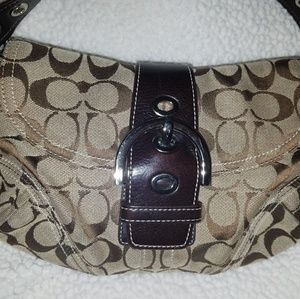 Small shoulder bag.  ALMOST NEW.